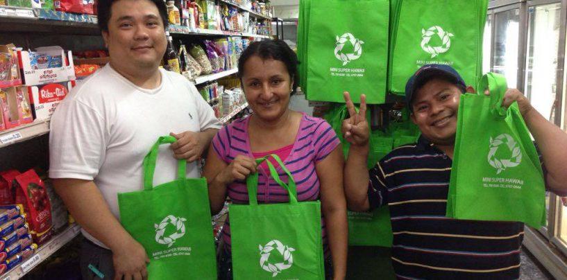 Bocas said NO to Plastic Bags!