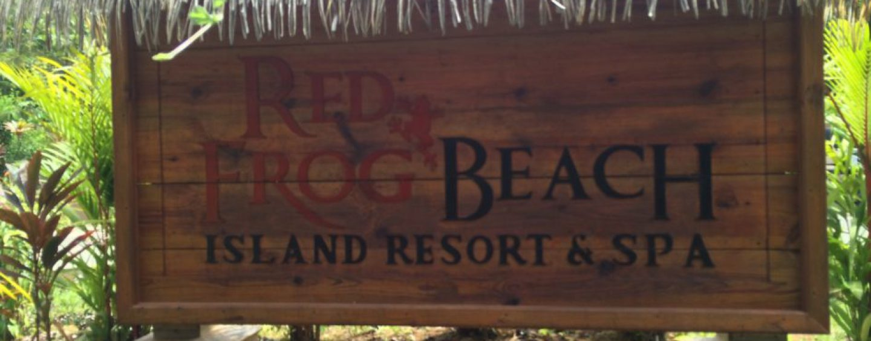 (English) Red Frog Beach Resort Villas, Bastamientos, Panama