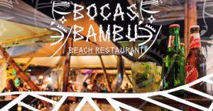 Bocas Bambu Beach Restaurant - 1