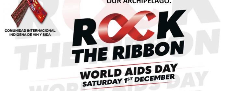 LAZO ROJO dia Mundial del SIDA