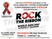 Rock the Ribbon world aids day