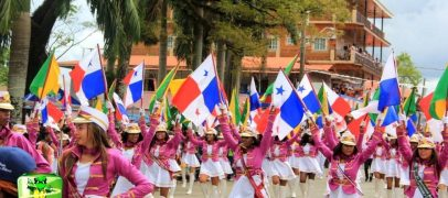"National Holiday  ""Fiestas Patrias"" in Bocas del Toro"