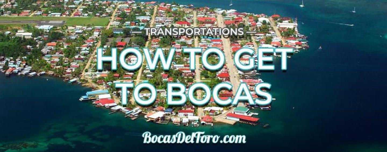 How to get to Bocas